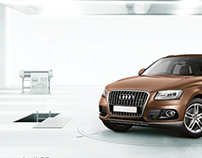 The new Audi Q5. Envied design, obsessively pursued.