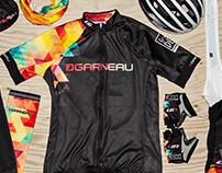 Contest winning design for Team Garneau