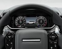 Range Rover Sport SVR Instrument Cluster