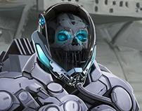Cyborg mini-gun