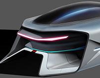 Diploma Project - Internship - Dacia EF-vision 2050