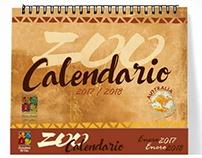 Calendario ZOO Australia 2017- 2018
