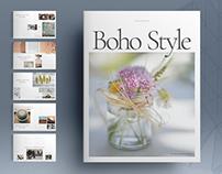 Boho Style Brochure