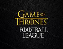 Game of Thrones - Football League - Nike Concept