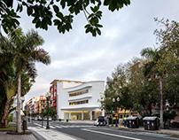 Antigua estación de servicio DISA | Romera y Ruiz arq.