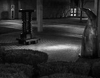 Plattsburgh: Sculpture at Night (Spring 2015)