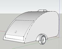 Teardrop Caravan SketchUp