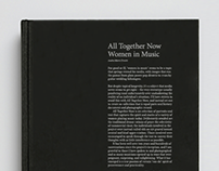 All Together Now: Women in Music