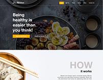J's Kitchen Landing Page