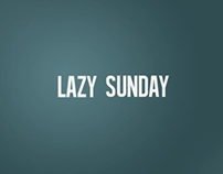 The Lonely Island - Lazy Sunday Kinetic typography 2013
