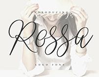 Rossa Script - Logo Font