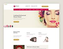 Beauty Salon Websites Templates Free Download