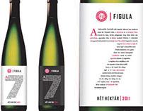 Figula wine label concept