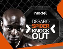 Facebook APP - Nextel Spider KnockOut