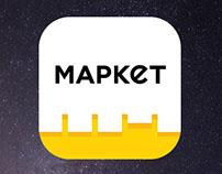 MARKET.KZ APP ICON 2016