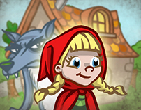 Red Riding Hood - 3D Interactive Book App