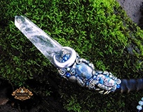 LADY OF THE LAKE Quartz Crystal Wand