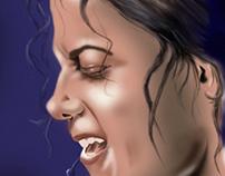 Digital painting in MJ