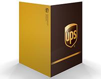 UPS - press folder