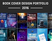 Book Cover /Book Jacket Design Portfolio 2016