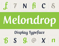 Melondrop Typeface