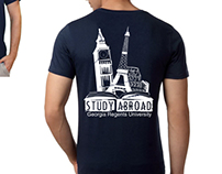 GRU Study Abroad Tshirt