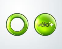 """Icons """"velo+""""."""