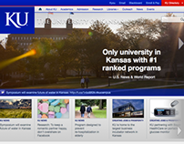 The University of Kansas Website Redesign