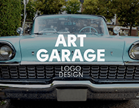 Art Garage Logo design
