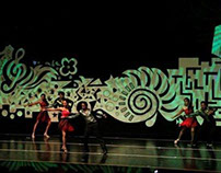 Revive Dance Show - Stage Design