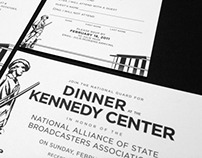 Invitations: Kennedy Center, Newseum, & Mount Vernon