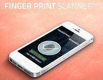 Finger Print Scanner App