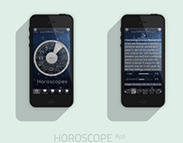 Horoscope App Design