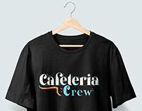 Cafeteria crew t-shirt design for clients merch.