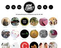 How Come Goldsmiths MA Design Show 2012