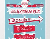 Kringle Run Graphic Design Class Assignment 2012