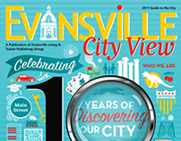 Evansville City View 2011 Cover Design