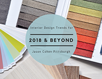 Interior Design Trends for 2018 and Beyond