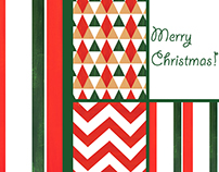 Christmas card + patterns