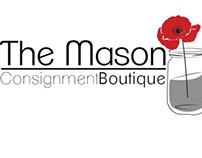 The Mason Jar Consignment Boutique Logo