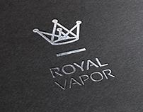 Royal Vapor. Logo and Brand Identity Design