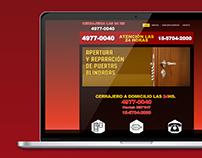 Cerrajeria24-hs.com.ar |Diseño Web HTML/CSS