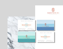 Santorini - Luxury Resort Branding