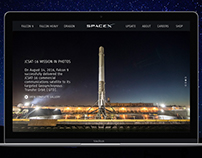 Space X Concept Redesign