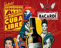 Pauta Bacardi carta menú Andrés Carne de Res 2016