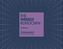 IWF — The Weekly Rundown
