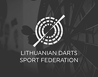 Lithuanian Darts Sport Federation logotype