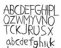 Wooden web project Alphabet