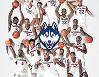 UConn Basketball Posters & Schedule Cards