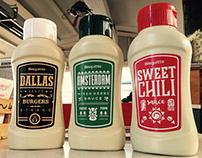 Bisquitte - Sauce Label Design